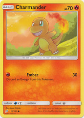 Charmander - 12/181 - Common