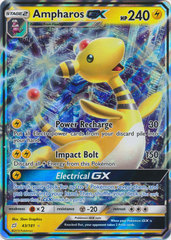 Ampharos GX - 43/181 - Ultra Rare on Channel Fireball