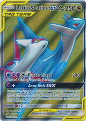 Latias & Latios GX - 169/181 - Full Art Ultra Rare