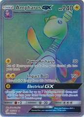 Ampharos GX - 185/181 - Secret Rare on Channel Fireball