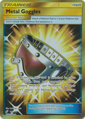 Metal Goggles - 195/181 - Secret Rare