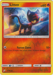 Litten - 20/181 - Common - Reverse Holo on Channel Fireball