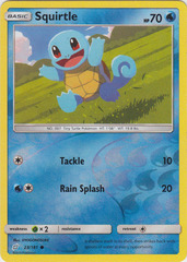 Squirtle - 23/181 - Common - Reverse Holo