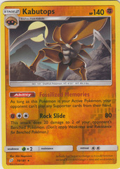 Kabutops - 78/181 - Rare - Reverse Holo on Channel Fireball