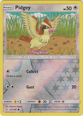Pidgey - 121/181 - Common - Reverse Holo