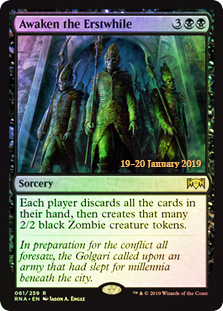 Awaken The Erstwhile - Foil Prerelease Promo - Singles