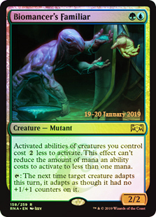 Biomancers Familiar - Foil Prerelease Promo