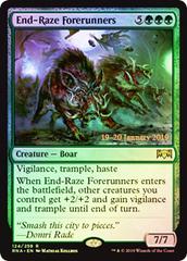 End-Raze Forerunners - Foil Prerelease Promo