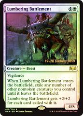 Lumbering Battlement - Foil Prerelease Promo