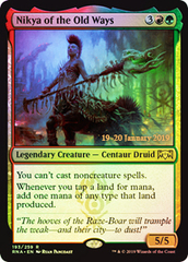 Nikya of the Old Ways - Foil Prerelease Promo