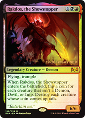 Rakdos, the Showstopper (RNA Prerelease Foil)