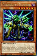 Speedburst Dragon - SAST-EN006 - Rare - 1st Edition