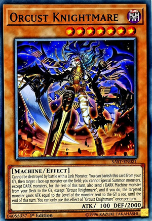 1st Cartes En021 Knightmare Common Edition Sast Orcust v8w0mNn