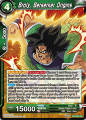 Broly, Berserker Origins - BT6-062 - UC - Foil on Channel Fireball