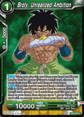 Broly, Unrealized Ambition - BT6-063 - C - Foil on Channel Fireball