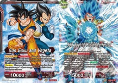 Son Goku and Vegeta // SSB Gogeta, Fusion Perfected - BT6-001 - UC - Foil