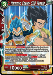 Harmonic Energy SSB Vegeta - BT6-007 - UC
