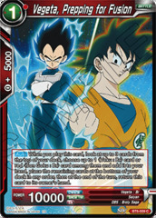 Vegeta, Prepping for Fusion - BT6-009 - C - Foil