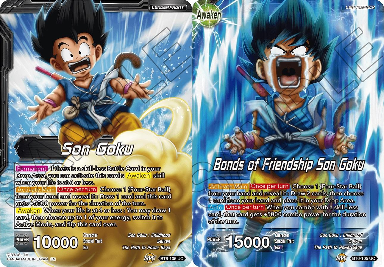 SR NM-Mint Dragon Ball Super Destroye BT6-107 the Adventure Begins Son Goku