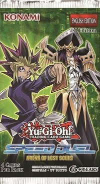 Speed Duel - Arena of Lost Souls 1st Edition Booster Pack