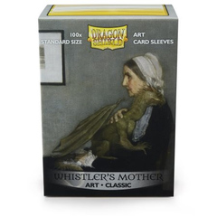Dragon Shield Sleeves: Classic - Whistler's Mother (100)
