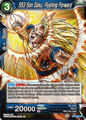 SS3 Son Goku, Pushing Forward - BT6-029 - UC - Foil