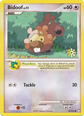 Bidoof - 73/123 - Pokemon Countdown Calendar Promo