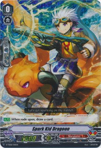 Spark Kid Dragoon - V-TD06/010 - RRR