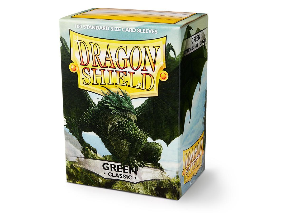 Dragon Shield Sleeves: Classic Green - Standard - (Box of 100)