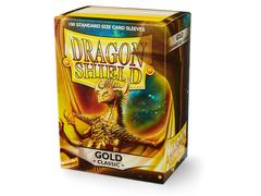 Dragon Shield Sleeves: Classic Gold - Standard - (Box of 100)