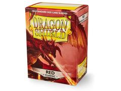 Dragon Shield Sleeves: Classic Red - Standard - (Box of 100)