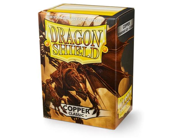 Dragon Shield Sleeves: Classic Copper  - Standard - (Box of 100)