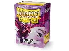 Dragon Shield Sleeves: Classic Purple  - Standard - (Box of 100)