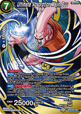 Ultimate Absorption Majin Buu - BT6-041 - SR