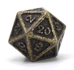 Big D20 - Mythica Dark Gold
