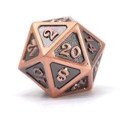 Big D20 - Mythica Battleworn Copper