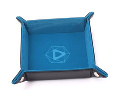 Die Hard Folding Square Tray w/ Pink Velvet