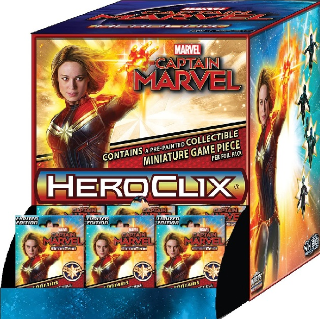 Marvel HeroClix: Captain Marvel Movie Gravity Feed