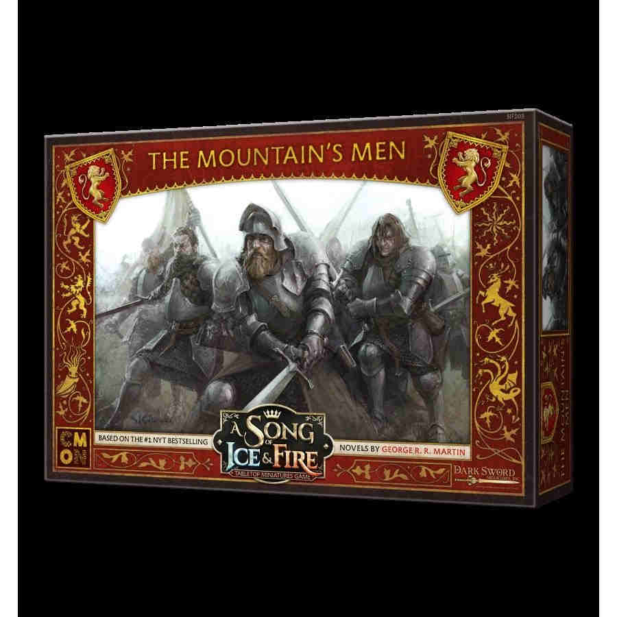 A Song Of Ice And Fire: Tabletop Miniatures Game - Lannister MountainS Men