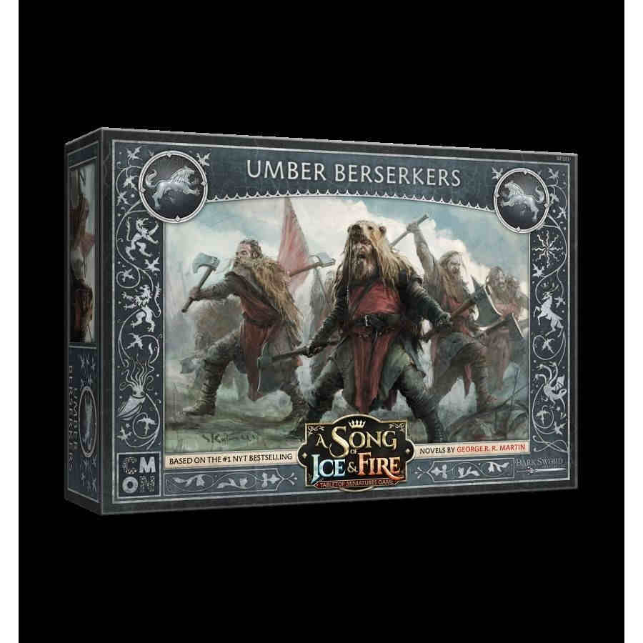 A Song Of Ice And Fire: Tabletop Miniatures Game - Stark Umber Berserkers