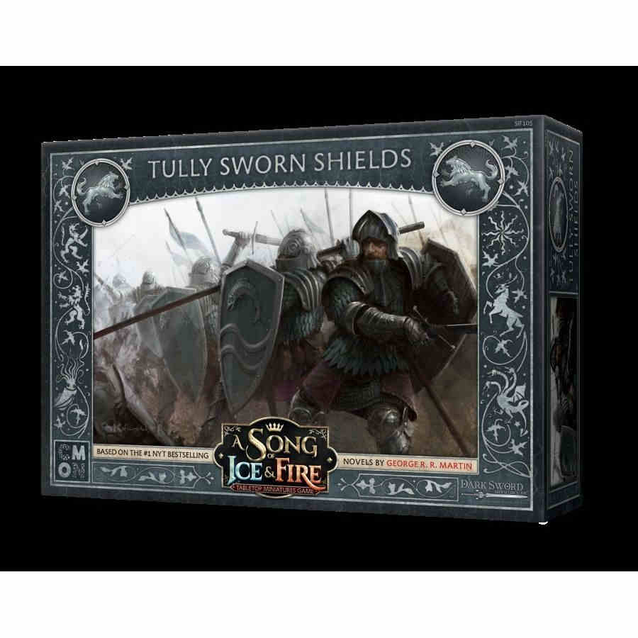 (Deprecated) A Song Of Ice And Fire: Tabletop Miniatures Game - Tully Sworn Shields