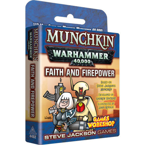 Munchkin Warhammer 40000: Faith And Firepower