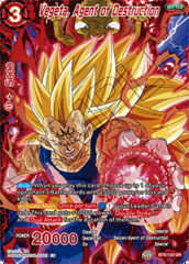 Vegeta, Agent of Destruction - BT6-120 - DR