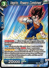 Vegito, Powers Combined - BT6-036 - C - Pre-release (Destroyer Kings)