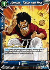 Hercule, Smile and Nod - BT6-040 - C - Pre-release (Destroyer Kings)