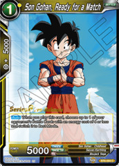 Son Gohan, Ready for a Match - BT6-084 - C - Pre-release