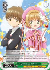 Syaoran & Sakura - CCS/WX01-038 - U