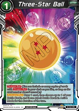 Three-Star Ball - P-101 - PR - Foil