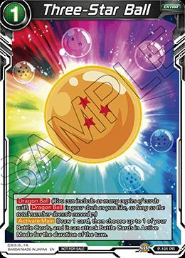 Three-Star Ball - P-101 - PR - Foil - Dragon Ball Super