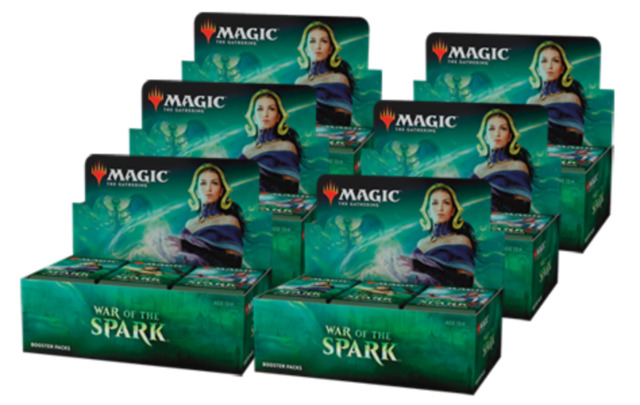 War of the Spark Booster Box Case